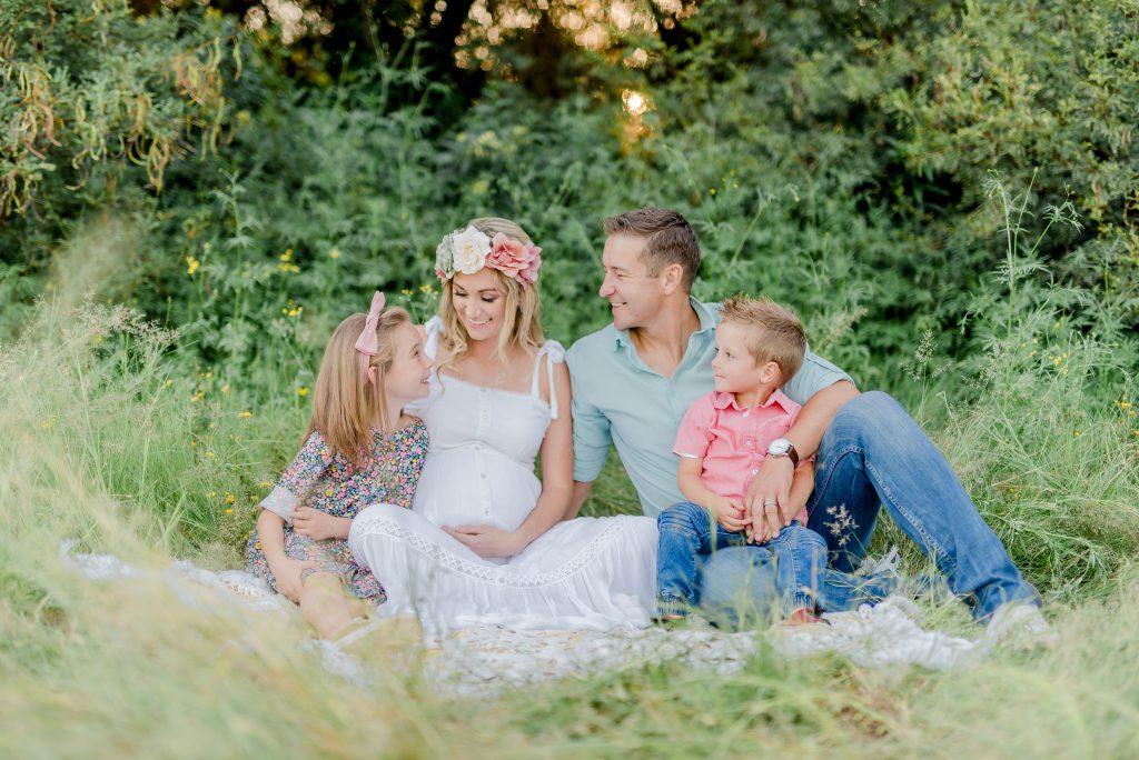 Bloemfontein Maternity Photoshoot with Family