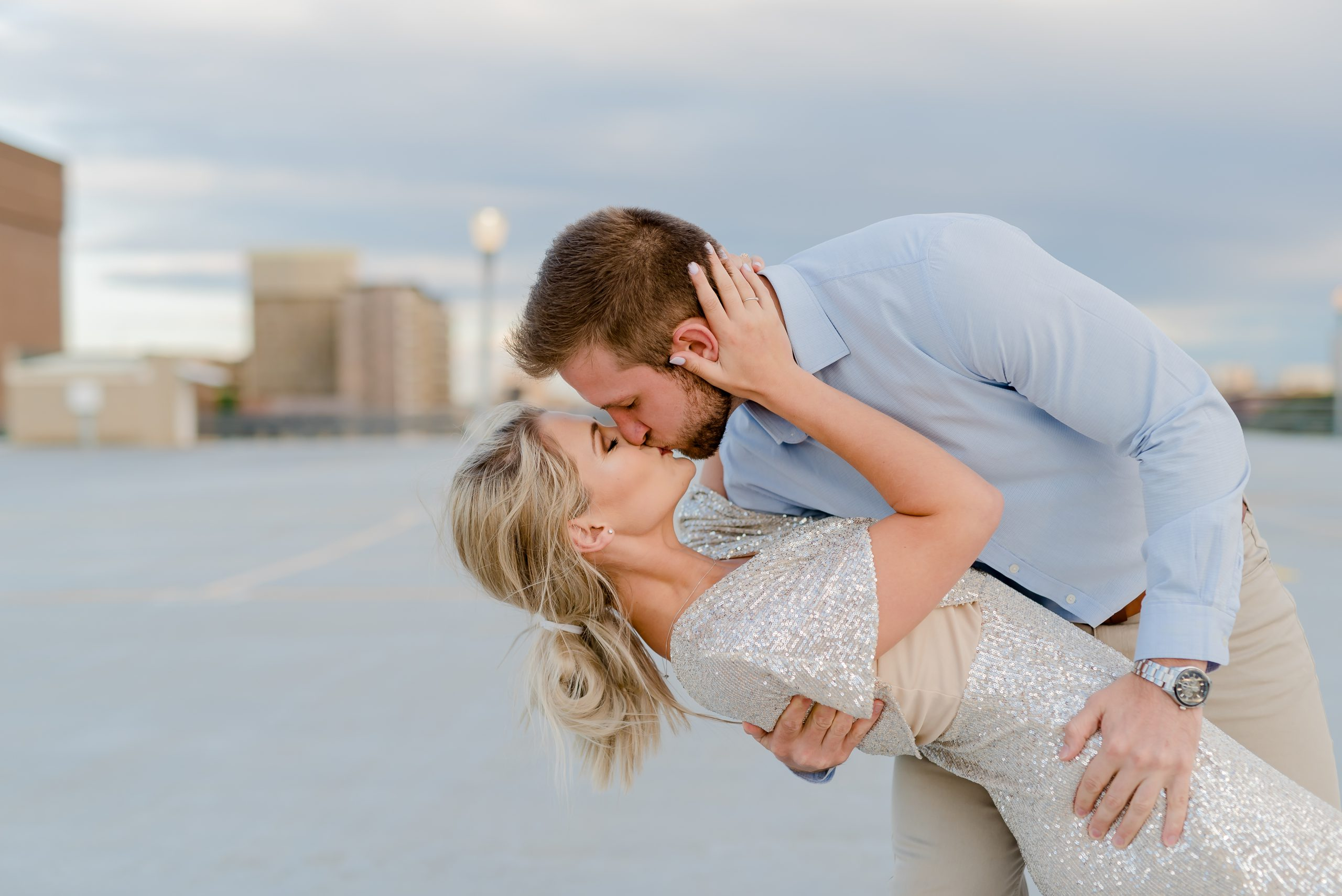 Formal Rooftop Engagement Session Bloemfontein